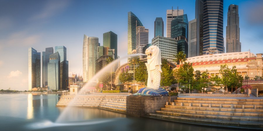 Il Merlion di Singapore